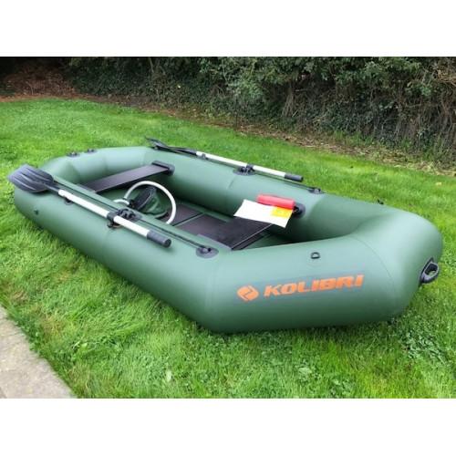 Лодка Kolibri К-280Т_sk серии Стандарт, гребная, слань-коврик купить в интернет-магазине Ellada