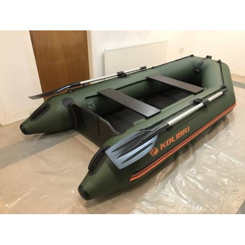 Лодка Kolibri КМ-280_skn серии Стандарт, моторная, слань-книга купить в интернет-магазине Ellada